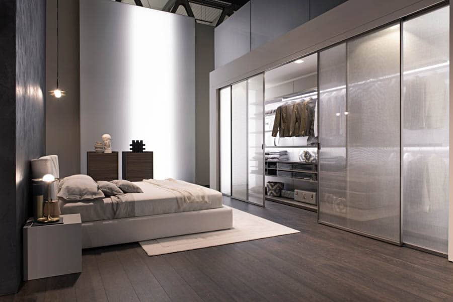 Walk In Closets Built In Wardrobes Integrated Into Modern