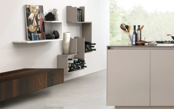Zed shelving wine storage