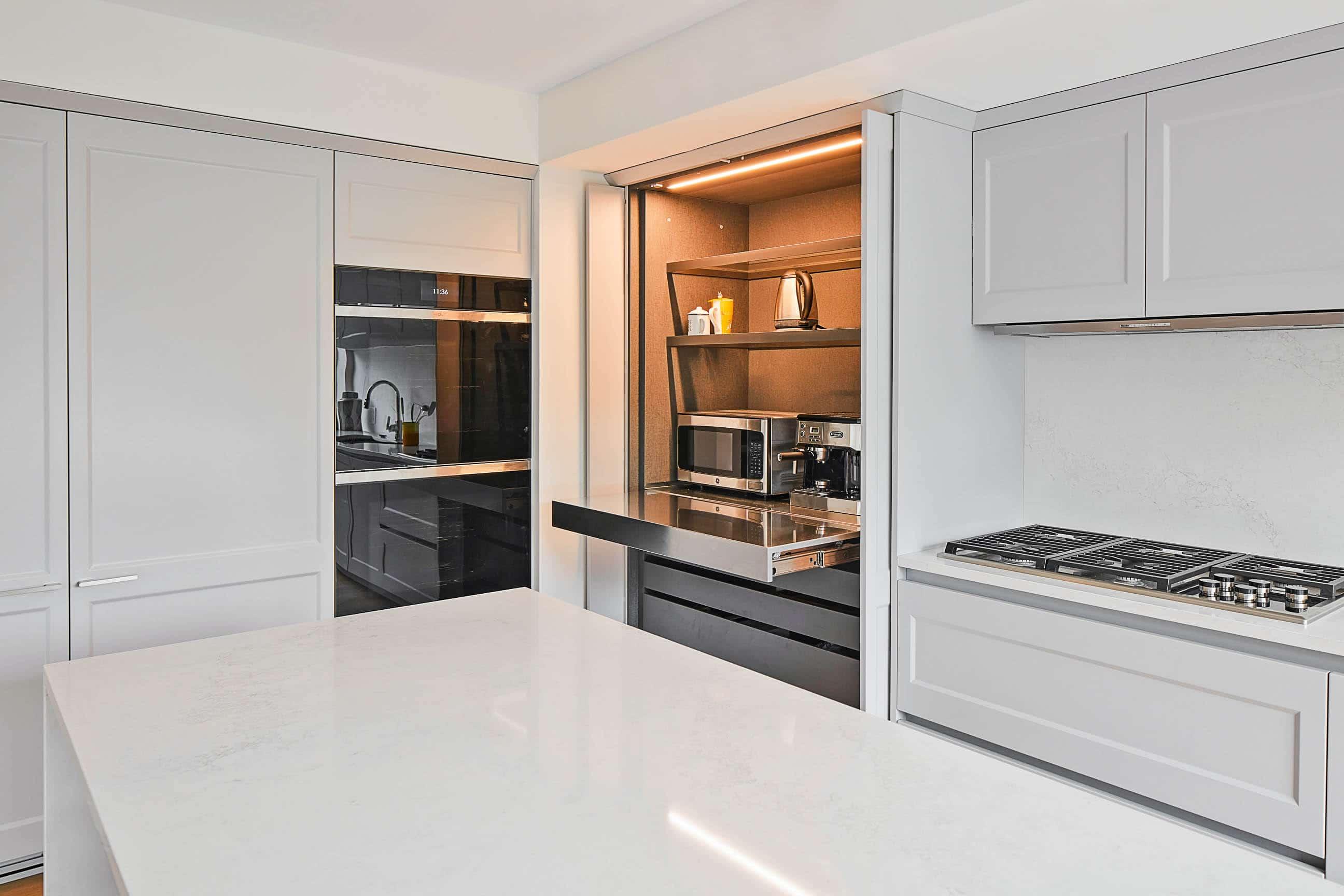 Transitional kitchen modern kitchen design NYC