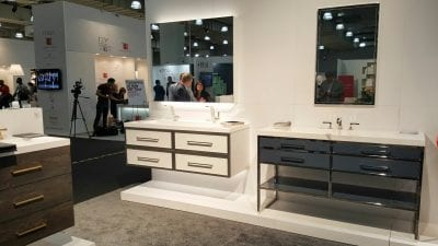ICFF 2016 Bathroom vanities Furniture Guild, manufacturer of contemporary, transitional and classical bathroom furniture